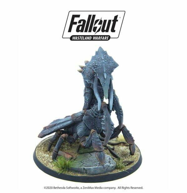 Fallout: Wasteland Warfare - Creatures: Fog Crawler