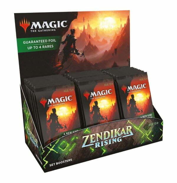 Magic the Gathering: Zendikar Rising Set Booster Box