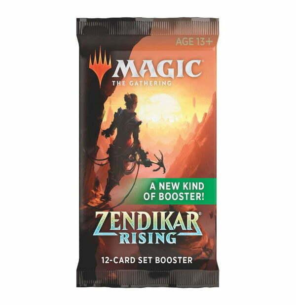 Magic the Gathering: Zendikar Rising Set Booster