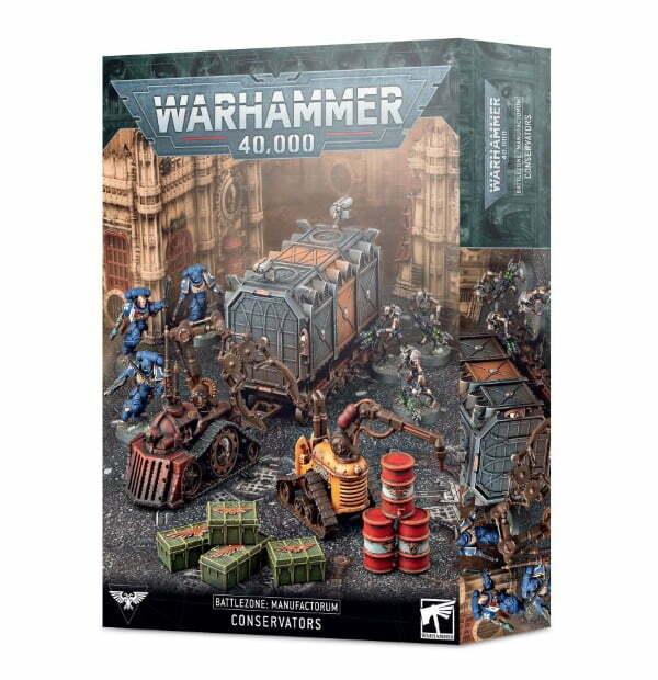 Battlezone: Manufactorum – Conservators