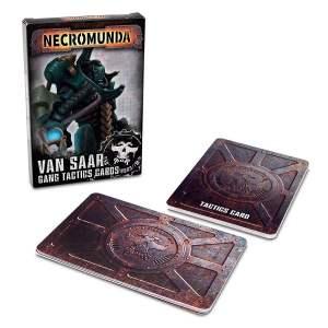Necromunda: Van Saar Gang Tactics Cards (Second Edition)