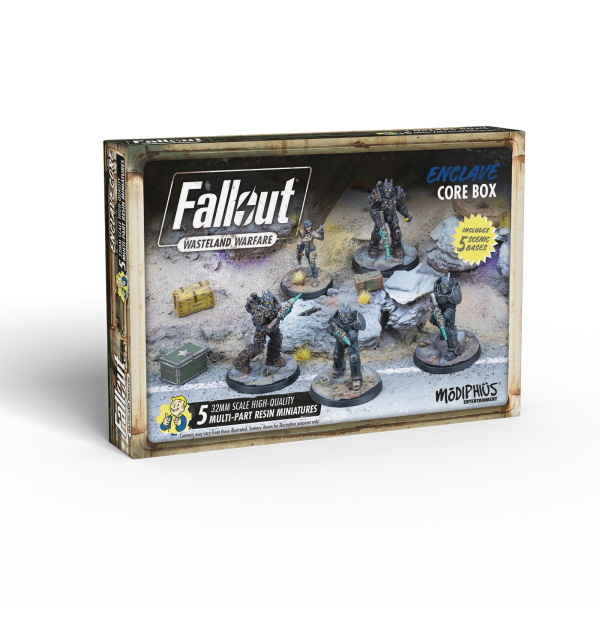 Fallout: Wasteland Warfare - Enclave: Core Box