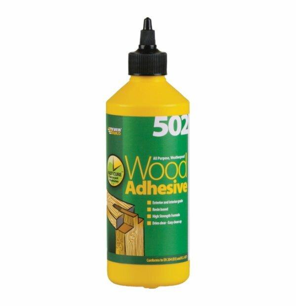 Everbuild PVA Wood Glue 500ml