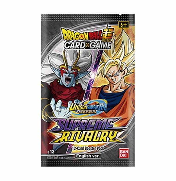 Dragon Ball Super Card Game: Unison Warrior Series Supreme Rivalry Booster