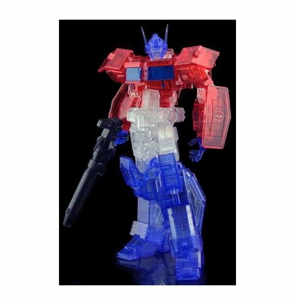 Transformers Furai Model Kit Optimus Prime IDW (Clear Ver.) 16 cm