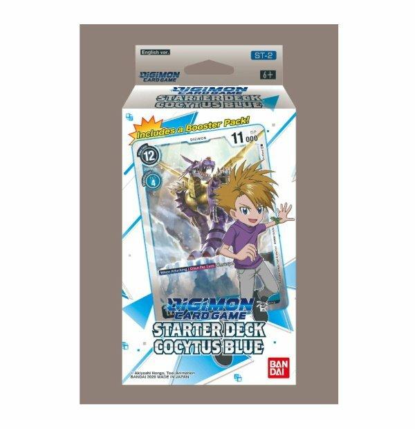 Digimon Trading Card Game: Starter Deck- Cocytus Blue ST-2
