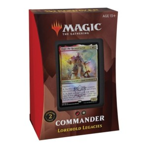Magic the Gathering: Strixhaven: School of Mages Lorehold Legacies Commander Deck