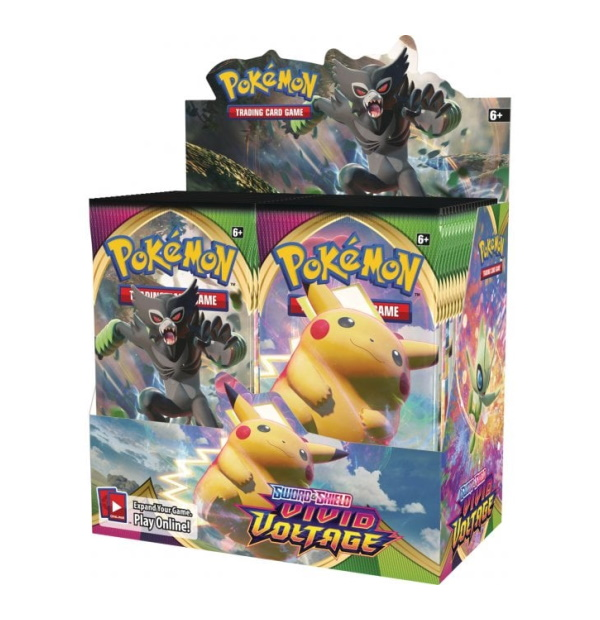 Pokémon Trading Card Game: Sword and Shield Vivid Voltage Booster Box