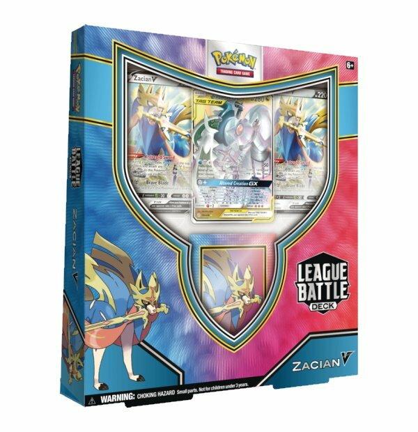 Pokemon Trading Card Game: Zacian V League Battle Deck