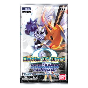 Digimon Trading Card Game: Battle Of Omni Booster