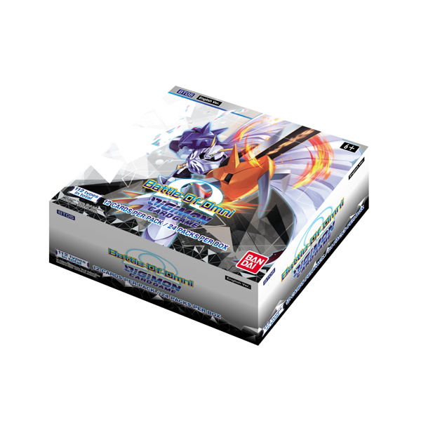Digimon Trading Card Game: Battle Of Omni Booster Box