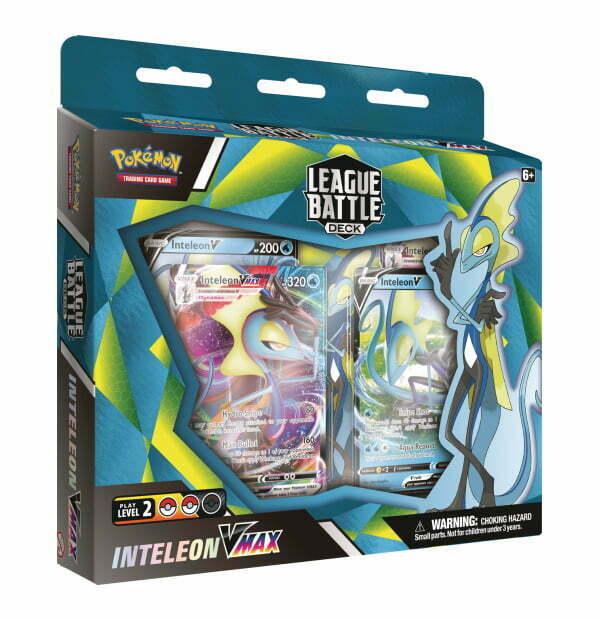 Pokémon Trading Card Game: Inteleon VMAX League Battle Deck