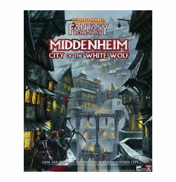 Warhammer Fantasy Roleplay: Middenheim: City of the White Wolf