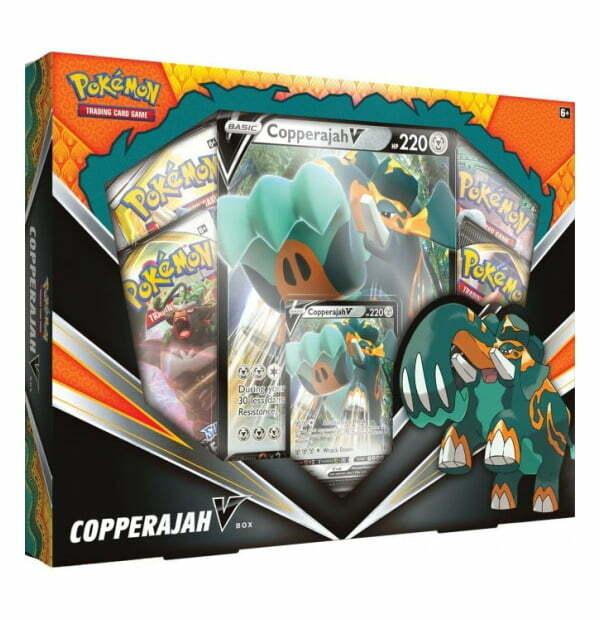 Pokémon Trading Card Game: Copperajah V Box
