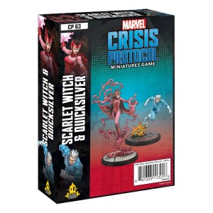 Marvel Crisis Protocol: Scarlet Witch and Quicksilver