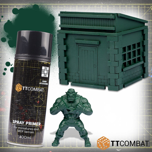 Green Bruiser Spray Primer