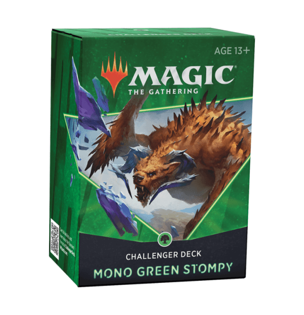 Magic the Gathering: Mono Green Stompy Challenger Deck
