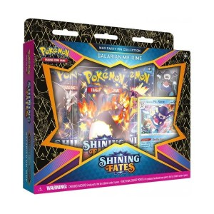 Pokémon Trading Card Game: Shining Fates Galarian Mr. Rime Mad Party Pin Collection