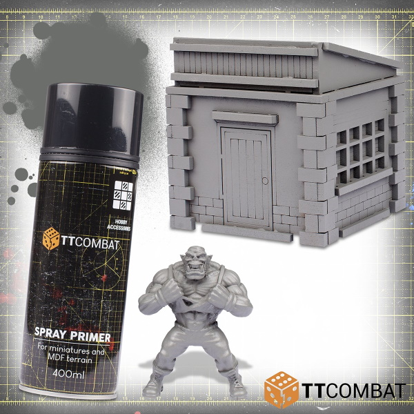 Sprue Grey Spray Primer