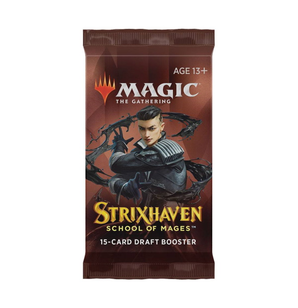 Magic the Gathering: Strixhaven: School of Mages Draft Booster