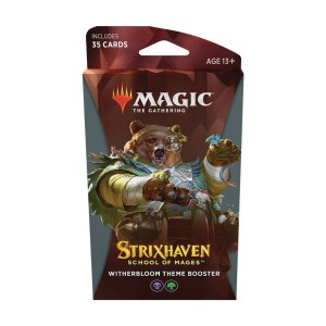 Magic the Gathering: Strixhaven: School of Mages Witherbloom Theme Booster