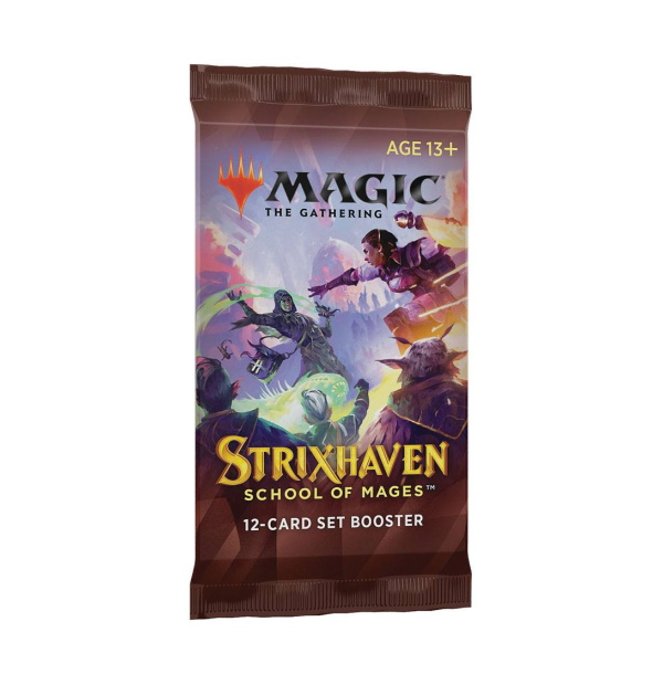Magic the Gathering: Strixhaven: School of Mages Set Booster