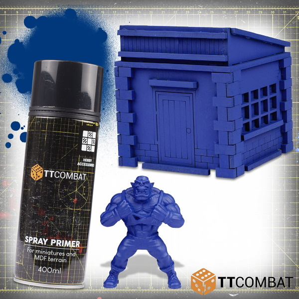 Nosferatu Blue Spray Primer