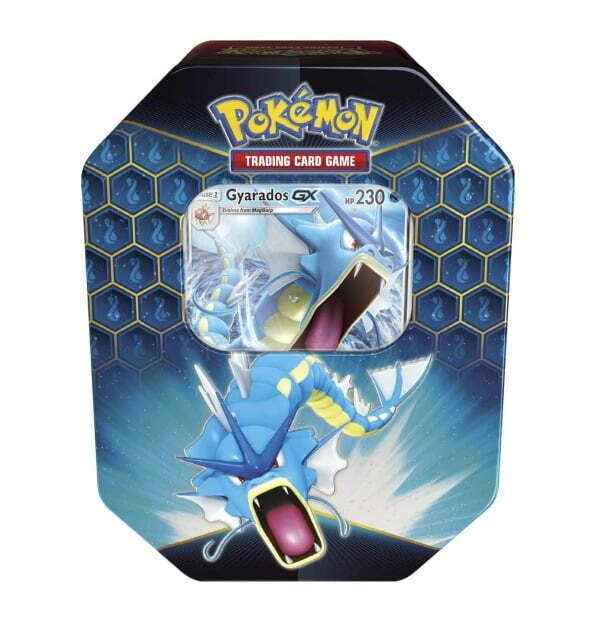 Pokémon Trading Card Game: Hidden Fates Gyarados GX Tin