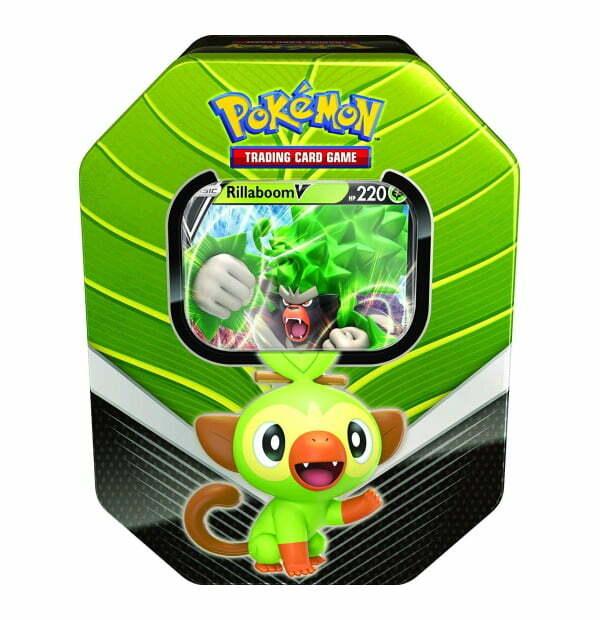 Pokémon Trading Card Game: Galar Partner Rillaboom V Tin