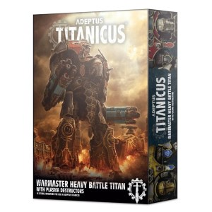 Adeptus Titanicus Warmaster Titan with Plasma Destructors