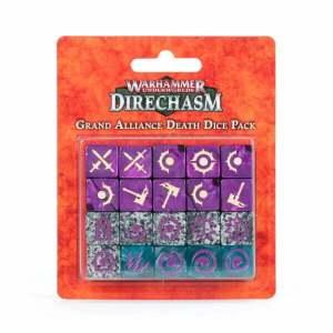 Warhammer Underworlds: Direchasm Grand Alliance Death Dice Pack