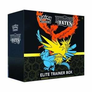 Pokémon Trading Card Game: Hidden Fates Elite Trainer Box