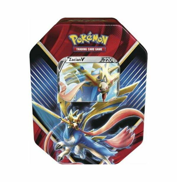 Pokémon Trading Card Game: Legend of Galar Zacian V Tin