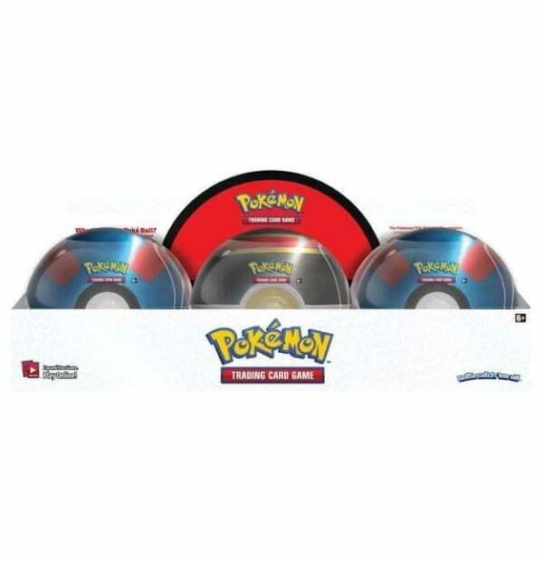 Pokémon Trading Card Game: Poke Ball Tin Series 2