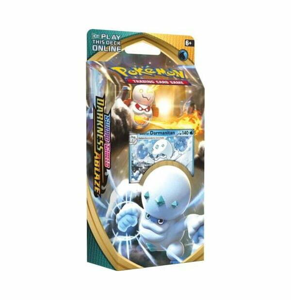 Pokémon Trading Card Game: Sword and Shield Darkness Ablaze Galarian Darmanitan Theme Deck