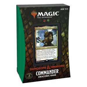 Magic the Gathering: D&D Adventures in the Forgotten Realms Draconic Rage Commander Deck