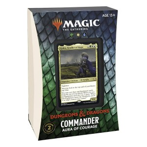 Magic the Gathering: D&D Adventures in the Forgotten Realms Aura of Courage Commander Deck