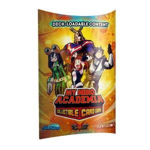 My Hero Academia Collectible Card Game: Deck Loadable Content Wave 1
