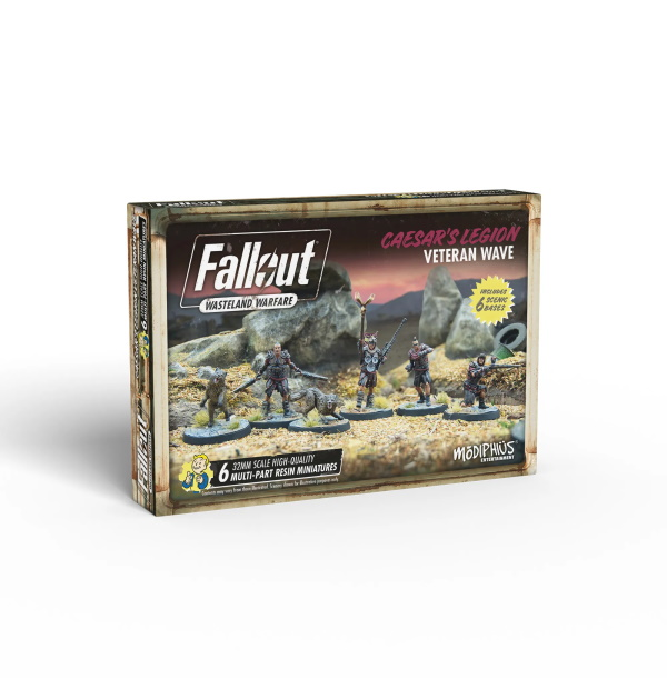 Fallout: Wasteland Warfare - Caeser's Legion: Veteran Wave