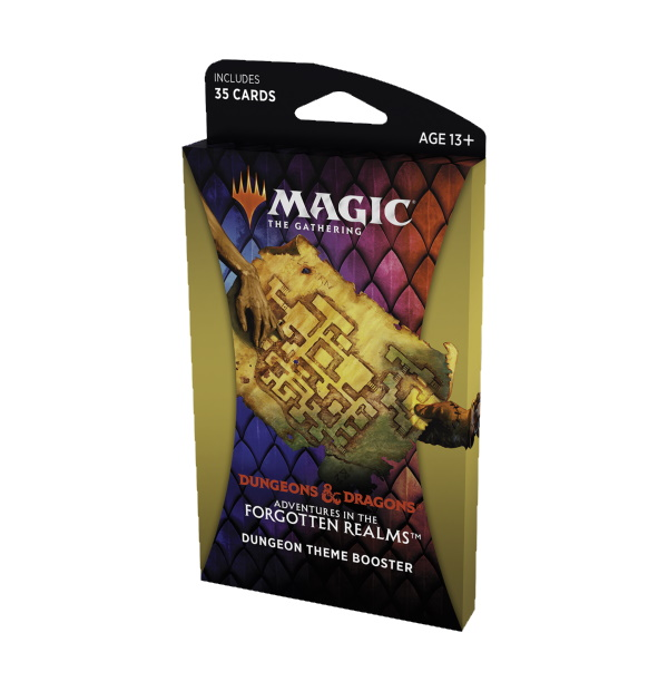 Magic the Gathering: D&D Adventures in the Forgotten Realms Dungeons Theme Booster Pack