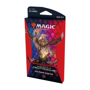 Magic the Gathering: D&D Adventures in the Forgotten Realms Red Theme Booster Pack