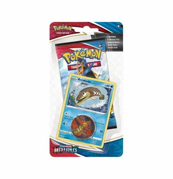 Pokémon Trading Card Game: Sword and Shield – Battle Styles Checklane Blister Arrokuda