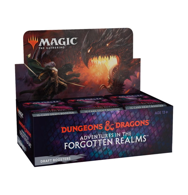 Magic the Gathering: D&D Adventures in the Forgotten Realms Draft Booster Box