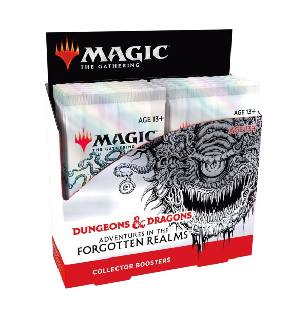 Magic the Gathering: D&D Adventures in the Forgotten Realms Realms Collector Booster Box