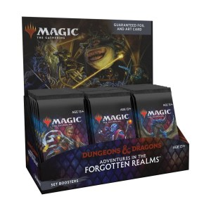 Magic the Gathering: D&D Adventures in the Forgotten Realms Set Booster Box