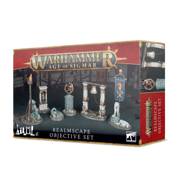 Warhammer Age of Sigmar: Realmscape Objective Set