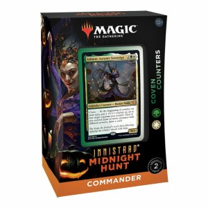 Magic the Gathering Innistrad: Midnight Hunt Coven Counters Commander Deck