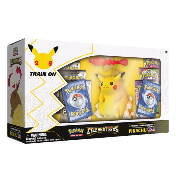 Pokémon Trading Card Game: Celebrations Premium Figure Collection - Pikachu VMAX