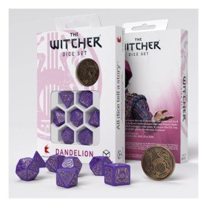 The Witcher Dice Set. Dandelion - Viscount de Lettenhove