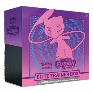 Pokémon Trading Card Game: Sword and Shield - Fusion Strike Elite Trainer Box